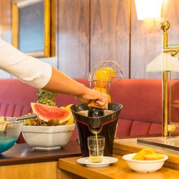 Hotel Starke Frühstück Säfte
