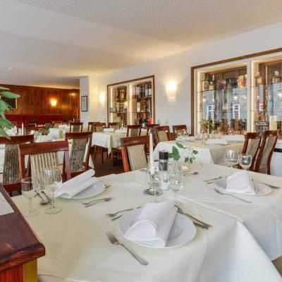 Hotel Starke Restaurant Whiskyausstellung